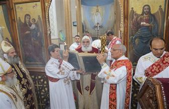 أقباط المنوفية يحتفلون بعيد القيامة المجيد بحضور عدد من القيادات بالمحافظة | صور