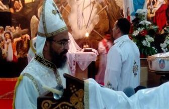 محافظ بني سويف يشهد قداس عيد القيامة المجيد بمطرانية بني سويف