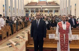 سفير مصر بكندا يشارك في قداس عيد القيامة بالكنائس القبطية | صور