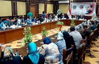 محافظ البحيرة يطالب جامعة دمنهور بتقديم رؤية للمحافظة حتى عام 2030 | صور