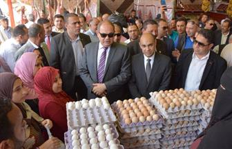 """محافظ الغربية يفتتح معرض """"أهلاً رمضان"""" بحي أول المحلة الكبرى   صور"""