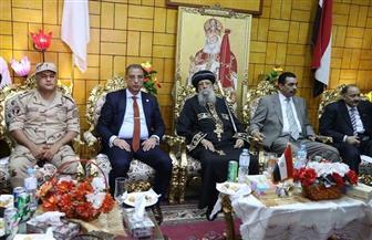محافظ سوهاج ومدير الأمن يقدمان التهنئة للإخوة الأقباط بمناسبة عيدالقيامة   صور