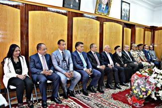 """وفد """"مستقبل وطن"""" يشارك الأقباط في احتفالات عيد القيامة ببورسعيد"""