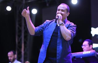 هشام عباس يحيي حفل شم النسيم بنادي مدينتي |صور