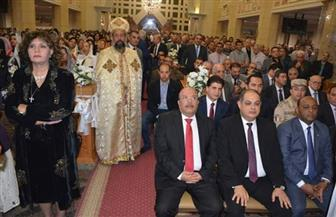 """""""مستقبل وطن"""" بالغربية يشارك الأخوة الأقباط احتفالاتهم بعيد القيامة"""