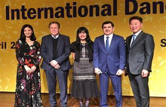الهيئة الدولية للمسرح تحتفل باليوم العالمي للرقص.. وكريمة منصور أول عربية تلقي الكلمة بكوريا | صور