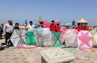 """""""الشباب والرياضة"""" تنظم مسابقة الطائرات الورقية في رأس البر في شم النسيم  صور"""