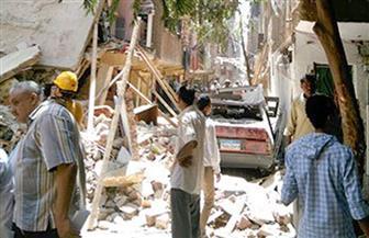 مصرع شخص وإصابة آخرين فى انهيار عقار بالزاوية بعد انفجار ماسورة غاز