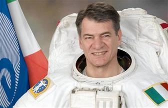 رائد الفضاء الإيطالى باولو نيسبولى في صالون أكاديمية البحث العلمي