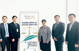 الاتحاد الإفريقى يناقش تعزيز التعاون بمجال الطاقة مع الصين | صور
