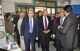 رئيس جامعة حلوان يفتتح الملتقى الـ17 لتشغيل خريجي الجامعة | صور