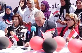 اللجنة الأوليمبية تشارك في مهرجان يوم المرأة العالمي