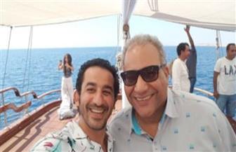 """بيومي فؤاد وأحمد حلمى في """"خيال مآته"""" قريبا"""