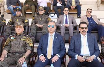 محافظ سوهاج يشهد حفل تخرج الدفعة 70 عسكريا للترقي لأمناء الشرطة | صور