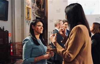 رانيا المشاط تعقد لقاءات تعاون سياحي بإسبانيا | صور