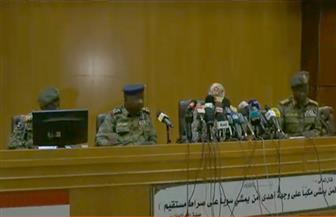 """""""المجلس العسكري السوداني"""": ناقشنا مع قادة الاحتجاجات المهام والسلطات على المستوى السيادي والتنفيذي والتشريعي"""