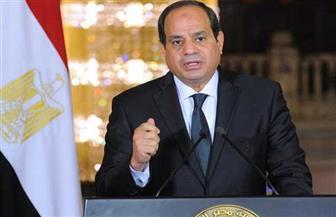 الرئيس السيسي يصل مقر الاحتفال بعيد العمال بالإسكندرية