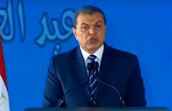 """وزير القوى العاملة بـ """"احتفالية عيد العمال"""": عمال مصر أصحاب همم عالية ويبذلون كل نفيس لنهضتها"""