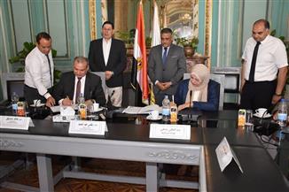 بروتوكول تعاون بين كلية التربية النوعية بجامعة عين شمس وصندوق تطوير المناطق العشوائية