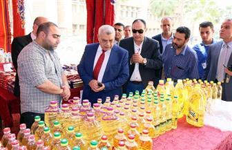 "نائب رئيس جامعة طنطا يفتتح معرض ""أهلا رمضان"" | صور"