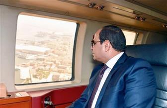 بسام راضى: الرئيس السيسي يتفقد مشروعات تنمية وتطوير ميناء الإسكندرية