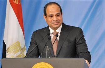 الرئيس السيسي يجري مباحثات موسعة مع نظيره الغيني تصدرها الملف الليبي