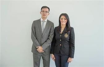 وزيرة السياحة تبحث سبل التعاون مع إحدى الشركات الصينية | صور