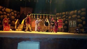 """""""رصد خان"""" على مسرح قصر ثقافة بني سويف   صور"""