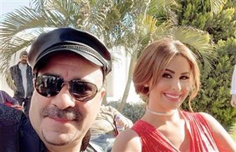 """مي سليم ومحمد سعد في كواليس فيلم """"محمد حسين""""   فيديو"""