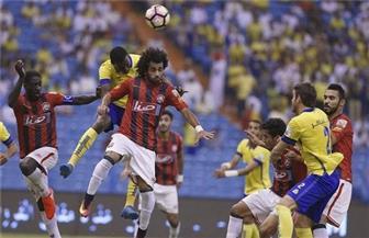 النصر يسحق الرائد بخماسية ويواصل صدارة الدوري السعودي للمحترفين