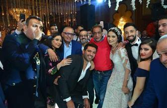 نجوم الفن والغناء في زفاف ابنة شقيق السبكي/صور