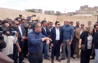 وزير الآثار يفتتح مركز الزوار الجديد بمنطقة عرابة أبيدوس فى سوهاج | صور