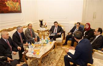 وزير التعليم العالي يبحث مع وفد كازاخستاني إقامة تحالف جامعات عربي ـ آسيوي