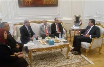 """""""عبد الغفار"""" يستقبل عددا من وزراء التعليم بالمنتدى العالمي للتعليم العالي   صور"""