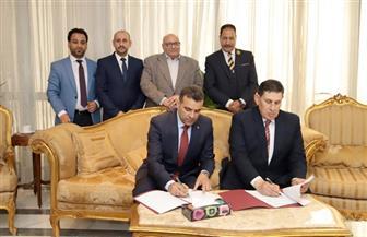 رئيس جامعة عين شمس يشهد توقيع مذكرة تفاهم مع جامعة الإمام الكاظم العراقية  صور