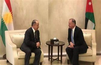 بارزاني في الأردن بدعوة من الملك عبدالله الثاني