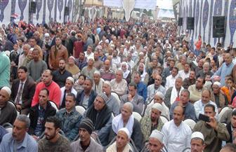 مؤتمر حاشد في كفر الدوار لدعم التعديلات الدستورية بمشاركة سليمان وهدان| صور