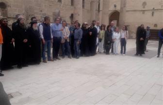 وزير الآثار يتفقد دير الأنبا شنودة بسوهاج| صور