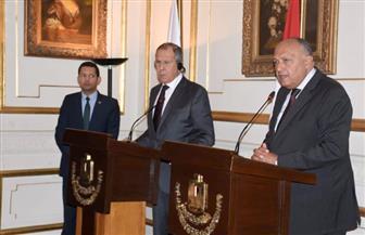 لافروف: قمة مصرية روسية في سوتشي وعودة السياحة قريبا.. وندعو الليبيين للحوار