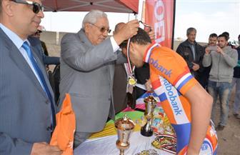 محافظ الدقهلية يشهد نهائي بطولة الدراجات بالمحافظة ويكرم الفائزين |صور