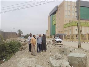 سليمان يتفقد مشروع مستشفى إسنا الجديد بالأقصر |صور