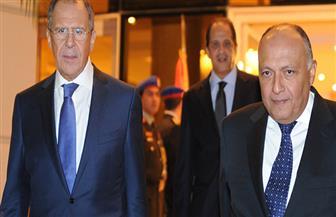 شكري: نستقبل الوفود الروسية فى إطار التفاعل الفني لعودة رحلات الطيران لمصر