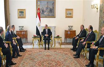 بسام  راضي: لقاء الرئيس السيسي ووزير الخارجية الروسي ركز على ترسيخ الشراكة الاقتصادية