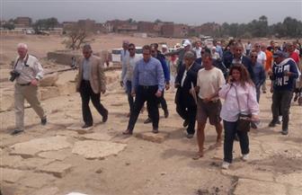 وزير الآثار: تطوير معبد أتريبس بتكلفة 5 ملايين و500 ألف جنيه | صور