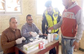 حملات للكشف عن المخدرات على طرق جنوب سيناء   صور