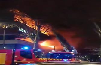 انفجار كبير يهز مبنى في العاصمة الفرنسية باريس  |فيديو