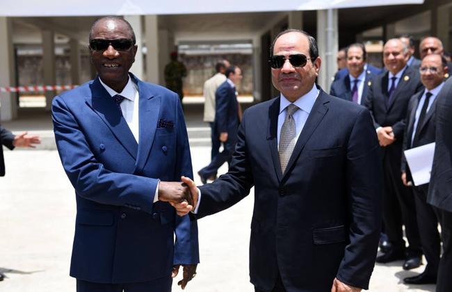 بسام راضي: الرئيس السيسي أكد اعتزازه بزيارة جمهورية غينيا الشقيقة  صور