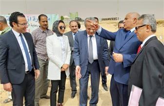 وزيرالتموين: إنشاء صومعة جديدة لتخزين الأقماح بالفرافرة في الوادي الجديد