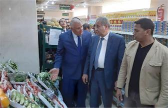 وزير التموين يطمئن على توافر السلع في أسواق الوادي الجديد | صور