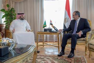وزير الاتصالات يلتقي نظيره السعودي.. ويعلنان أجندة للتعاون في التحول للمجتمع الرقمي | صور